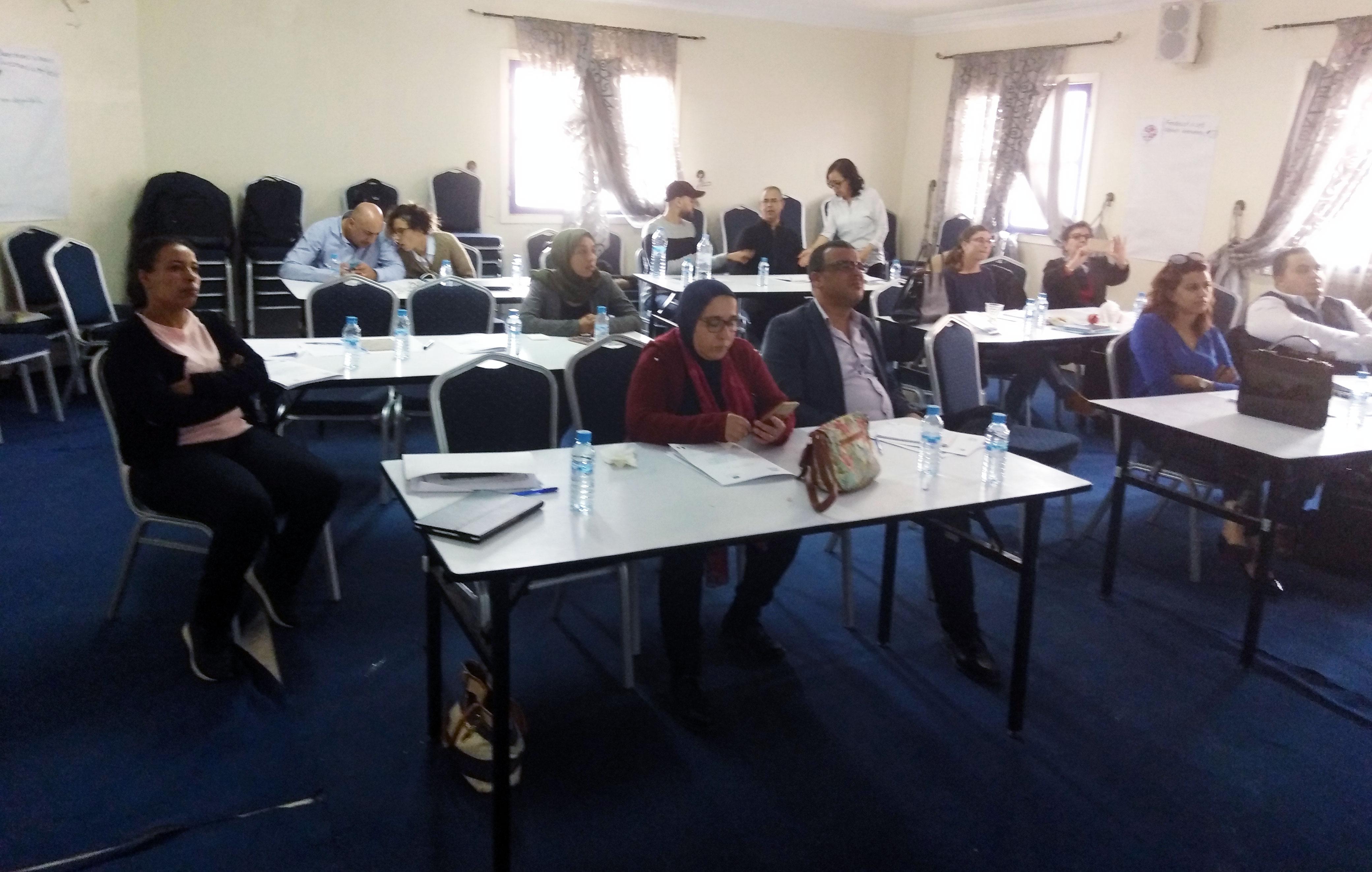 atelier de la protection des réfugiées au MAROC