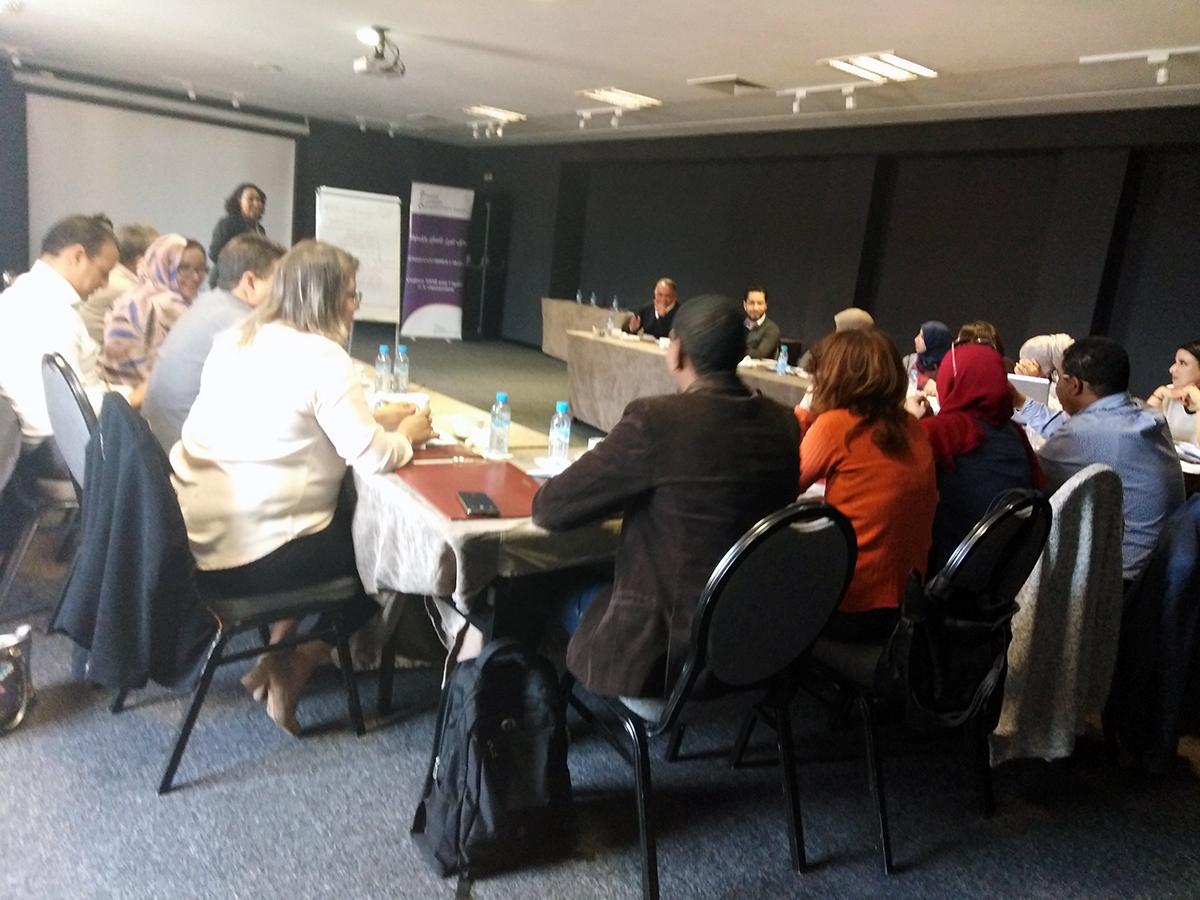Réunion préparatoire du caravane national sur la loi 13/103 sur la violence à l'égard des femmes