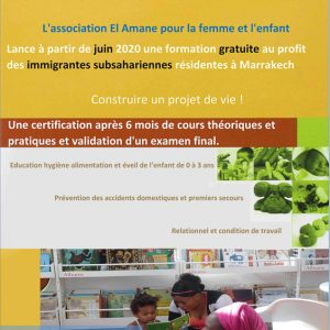 FORMATION ASSISTANTE MATERNELLE AUX FOYERS