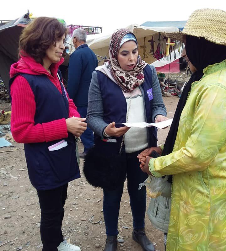 femme en difficulte au maroc
